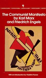 Cover of: The Communist Manifesto (Napier & Judd Series)