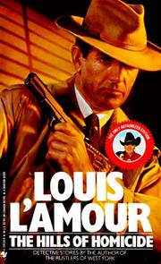 Cover of: The Hills of Homicide | Louis L'Amour