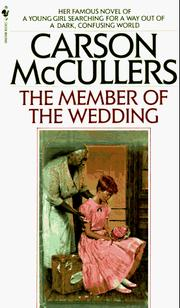 Cover of: The Member of the Wedding