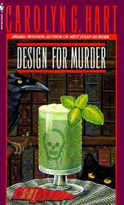 Cover of: Design for murder