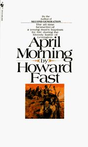 Cover of: April Morning