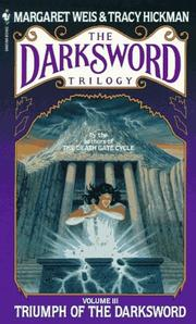 Cover of: Triumph of the Darksword | Margaret Weis