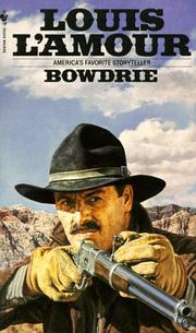 Cover of: Bowdrie