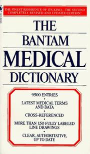 Cover of: The Bantam Medical Dictionary | Laurence Urdang