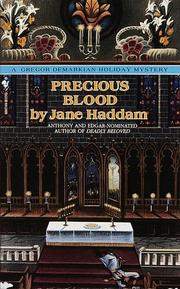 Cover of: Precious Blood