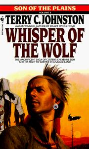 Cover of: WHISPER OF THE WOLF (Sons of the Plains)