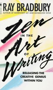 Cover of: Zen in the art of writing