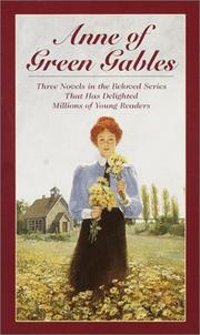 Cover of: Anne of Green Gables Boxed Set