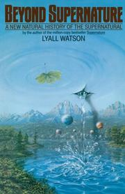 Cover of: Beyond supernature | Lyall Watson