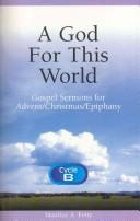 Cover of: A God for this world