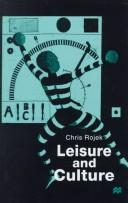 Cover of: Leisure and culture