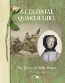 Cover of: A colonial Quaker girl
