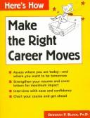 Cover of: Make the right career move