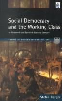 Cover of: Social democracy and the working class in the nineteenth and twentieth century Germany