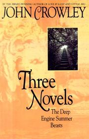 Cover of: Three novels