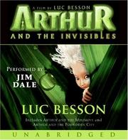 Cover of: Arthur and the Invisibles Movie Tie-In Edition Unabr CD
