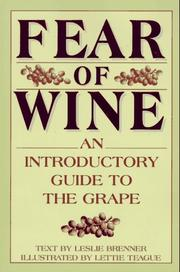 Cover of: Fear of wine