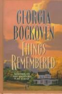 Cover of: Things remembered
