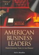 Cover of: American business leaders