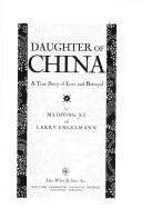 Cover of: Daughter of China