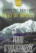 Cover of: Acts of malice