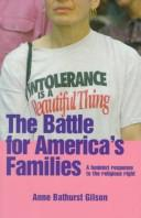 Cover of: The battle for America's families