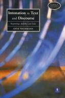 Cover of: Intonation in text and discourse