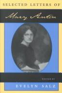 Cover of: Selected letters of Mary Antin
