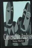 Cover of: Conversation analysis