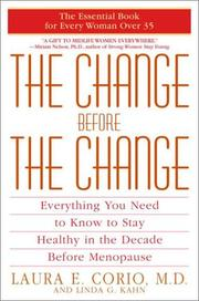 Cover of: The Change Before the Change | Laura Corio