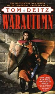 Cover of: Warautumn: a tale of Eron