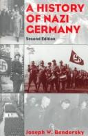 Cover of: A history of Nazi Germany