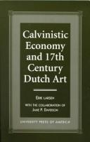 Cover of: Calvinistic economy and 17th century Dutch art