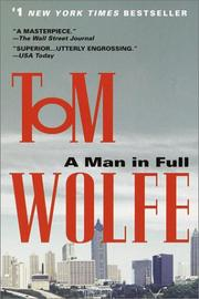 Cover of: A Man in Full | Tom Wolfe