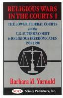 Cover of: Religious wars in the courts