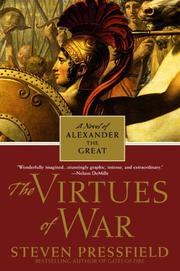 Cover of: The virtues of war: a novel of Alexander the Great