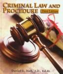 Cover of: Criminal law and procedure | Hall, Daniel