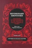 Cover of: Revisionary identities