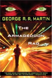 Cover of: The Armageddon Rag by George R. R. Martin