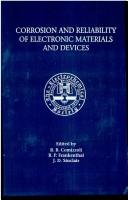 Cover of: Corrosion and reliability of electronic materials and devices