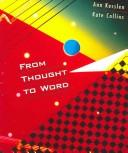 Cover of: From thought to word