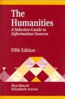 Cover of: The humanities
