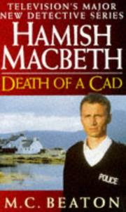 Cover of: Death of a Cad (Hamish Macbeth)