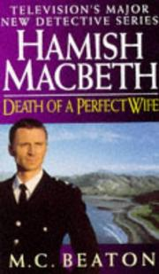 Cover of: Death of a Perfect Wife (Hamish Macbeth)