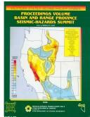 Cover of: Proceedings volume, Basin and Range Province Seismic-Hazards Summit