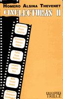 Cover of: Cine lecturas