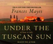 Cover of: Under the Tuscan Sun