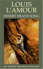 Cover of: Desert Death Song |