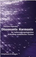 Cover of: Dissonante Harmonie