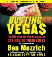 Cover of: Busting Vegas CD: The MIT Whiz Kid Who Brought the Casinos to Their Knees